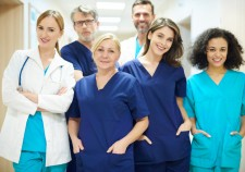 Team of doctors ready to work